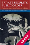 Cover of Private Security, Public Order: The Outsourcing of Public Services and Its Limits (eBook)