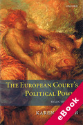 Cover of The European Court's Political Power: Selected Essays (eBook)