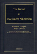 Cover of The Future of Investment Arbitration