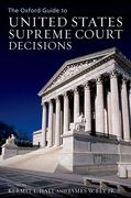 Cover of The Oxford Guide to United States Supreme Court Decisions