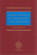 Cover of Model Articles of Association for Companies