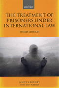 Cover of The Treatment of Prisoners Under International Law