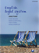 Cover of English Legal System Directions