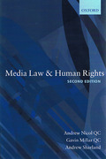 Cover of Media Law & Human Rights
