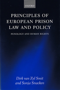 Cover of Principles of European Prison Law and Policy