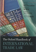 Cover of The Oxford Handbook of International Trade Law