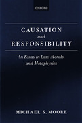 Cover of Causation and Resonsibility: An Essay in Law, Morals and Metaphysics