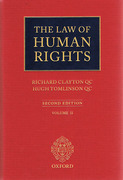 Cover of Law of Human Rights