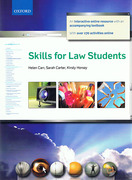 Cover of Skills for Law Students