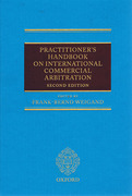 Cover of Practitioner's Handbook on International Commercial Arbitration