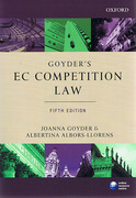 Cover of Goyder's EC Competition Law