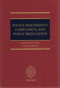 Cover of Police Misconduct, Complaints, and Public Regulation