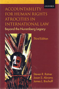 Cover of Accountability for Human Rights Atrocities in International Law