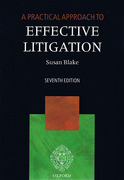 Cover of A Practical Approach to Effective Litigation