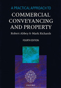 Cover of A Practical Approach to Commercial Conveyancing and Property