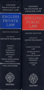 Cover of Bundled Set: English Private Law 2nd ed & English Public Law 2nd ed