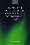 Cover of Corporate Accountability in International Environmental Law