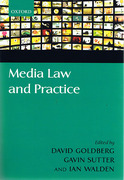 Cover of Media Law and Practice