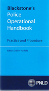 Cover of Blackstone's Police Operational Handbook: Practice and Procedure