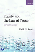 Cover of Equity and the Law of Trusts