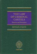 Cover of The Law of Criminal Cartels: Practice and Procedure