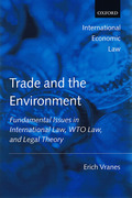 Cover of Trade and the Environment: Fundamental Issues in International and WTO Law