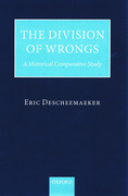 Cover of Division of Wrongs: A Historical Comparative Study
