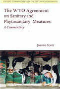 Cover of The WTO Agreement on Sanitary and Phytosanitary Measures: A Commentary