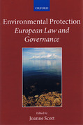 Cover of Environmental Protection: European Law and Governance