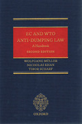 Cover of EC and WTO Anti-Dumping Law: A Handbook