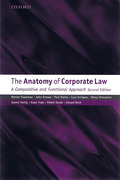 Cover of The Anatomy of Corporate Law: A Comparative and Functional Approach
