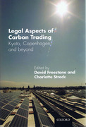 Cover of Legal Aspects of Carbon Trading: Kyoto, Copenhagen and Beyond