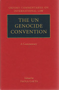 Cover of The UN Genocide Convention: A Commentary