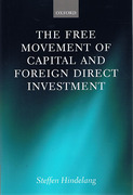 Cover of Free Movement of Capital and Foreign Direct Investment: The Scope of Protection in EU Law