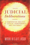 Cover of Judicial Deliberations: A Comparative Analysis of Transparency and Legitimacy
