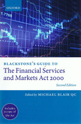 Cover of Blackstone's Guide to the Financial Services and Markets Act 2000