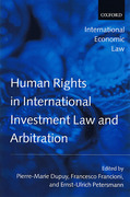 Cover of Human Rights in International Investment Law and Arbitration