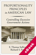Cover of Proportionality Principles in American Law: Controlling Excessive Government Actions (eBook)