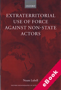 Cover of Extraterritorial Use of Force against Non-State Actors (eBook)