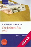 Cover of Blackstone's Guide to the Bribery Act 2010 (eBook)