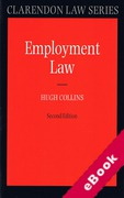 Cover of Employment Law (eBook)