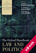 Cover of The Oxford Handbook of Law and Politics (eBook)