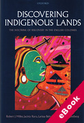 Cover of Discovering Indigenous Lands: The Doctrine of Discovery in the English Colonies (eBook)