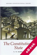 Cover of The Constitutional State (eBook)