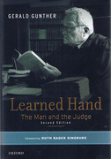 Cover of Learned Hand: The Man and the Judge