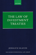 Cover of The Law of Investment Treaties