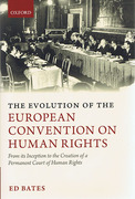 Cover of Evolution of the European Convention on Human Rights