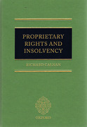 Cover of Proprietary Rights and Insolvency