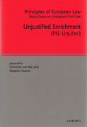 Cover of Unjustified Enrichment