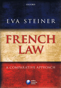 Cover of French Law: A Comparative Approach